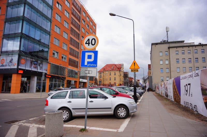 Automobile parcheggiata fotografia stock libera da diritti