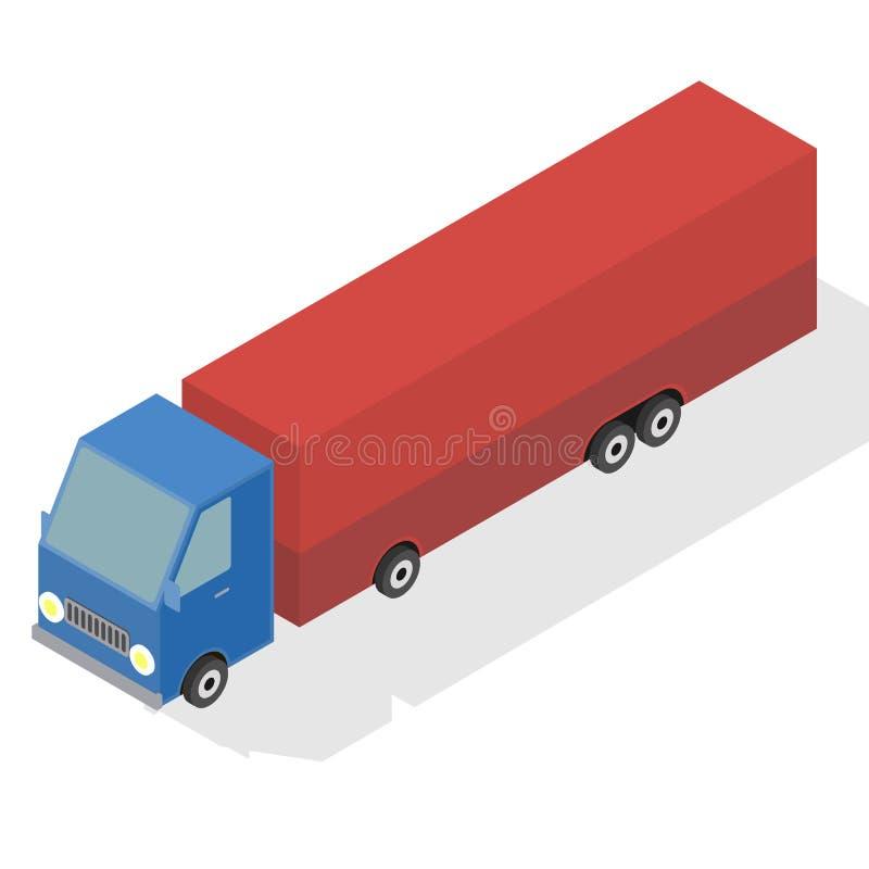 Automobile per il trasporto merci royalty illustrazione gratis