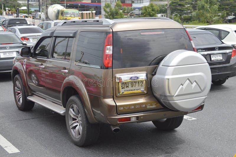 Automobile privata del suv, FORD Suv Car fotografia stock libera da diritti