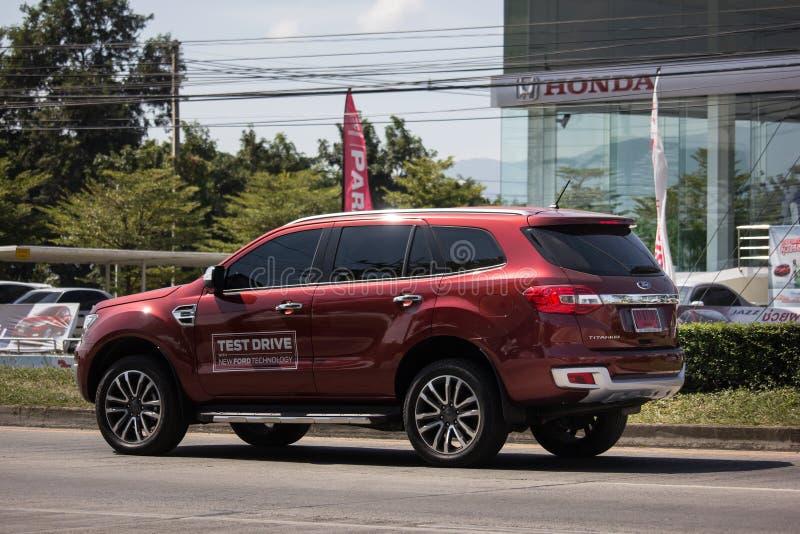 Automobile privata Ford Everest di Suv fotografia stock
