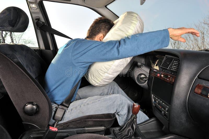 Automobile quattro di incidente immagini stock libere da diritti