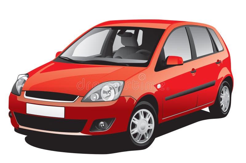 Automobile rossa royalty illustrazione gratis
