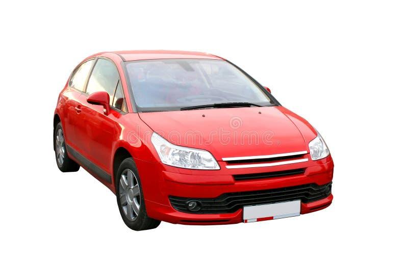 Automobile rossa immagine stock
