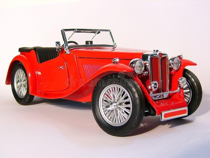 Automobile rossa fotografia stock