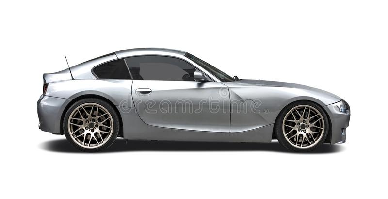 Automobile scoperta a due posti di BMW Z4 fotografia stock libera da diritti