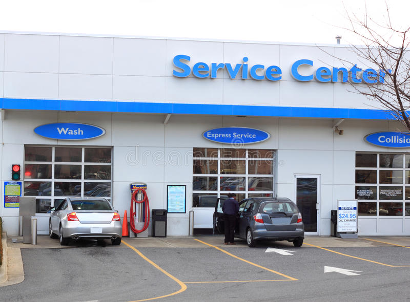 Download Car Service Center stock photo. Image of automobile, building - 29678490