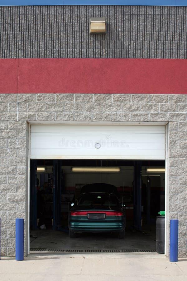 Automobile Service Bay stock photos