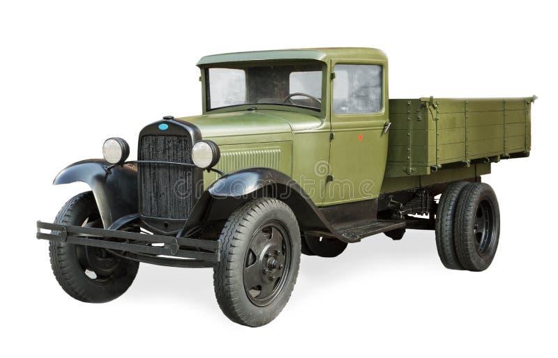 Automobile sovietica russa durante la seconda guerra mondiale GAZ-AA fotografia stock