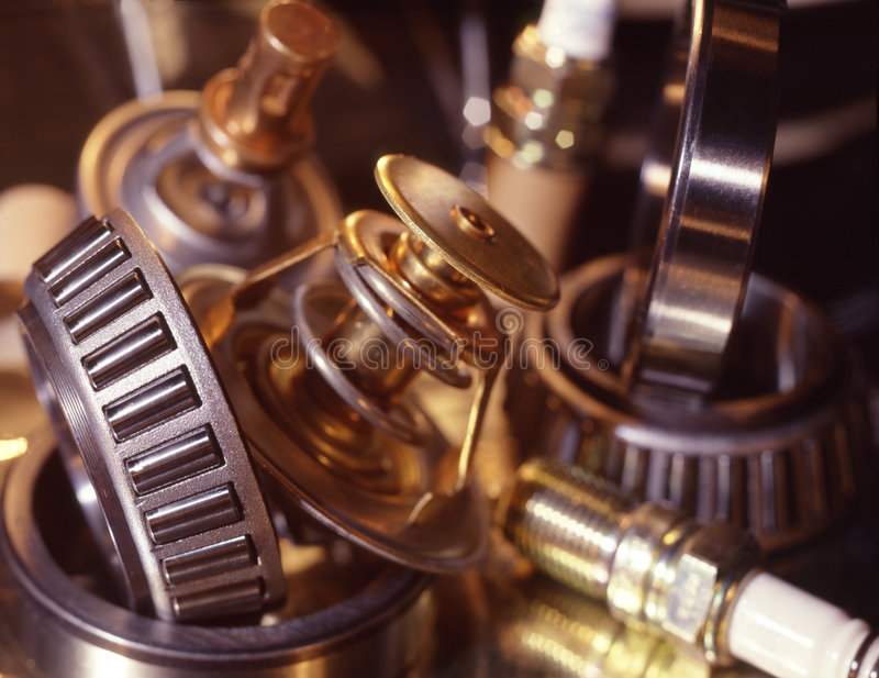 Download Automobile spare parts stock photo. Image of gear, reflection - 7351790