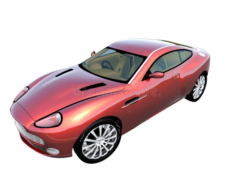 automobile sportiva 3d royalty illustrazione gratis