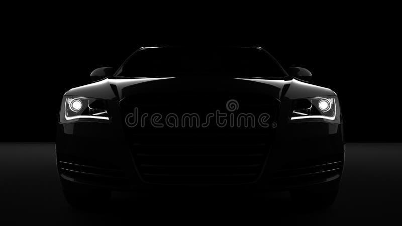 Download Automobile sportiva illustrazione di stock. Illustrazione di faro - 56883516