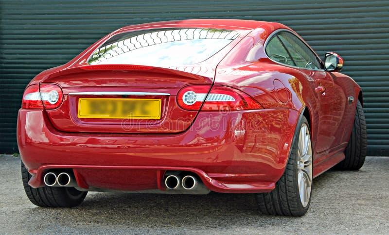 Automobile sportiva ad alta potenza di lusso fotografie stock