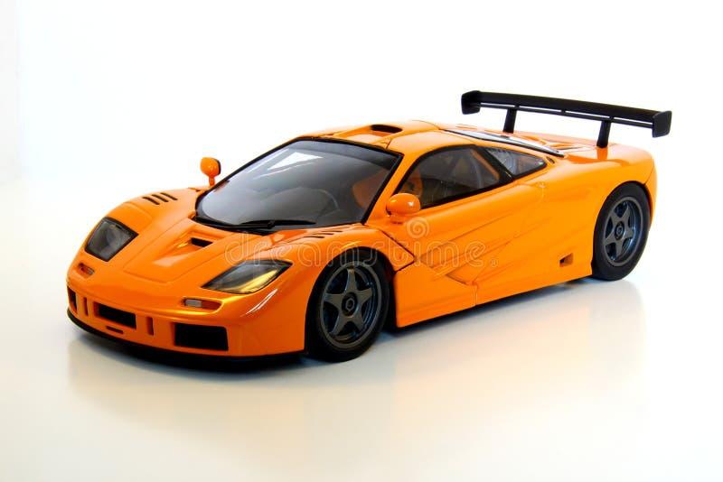 Automobile sportiva arancione immagini stock libere da diritti