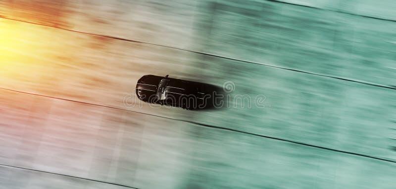 """Automobile sportiva che corre fondo dell'estratto nel †del mosso """"- completi la a fotografie stock libere da diritti"""