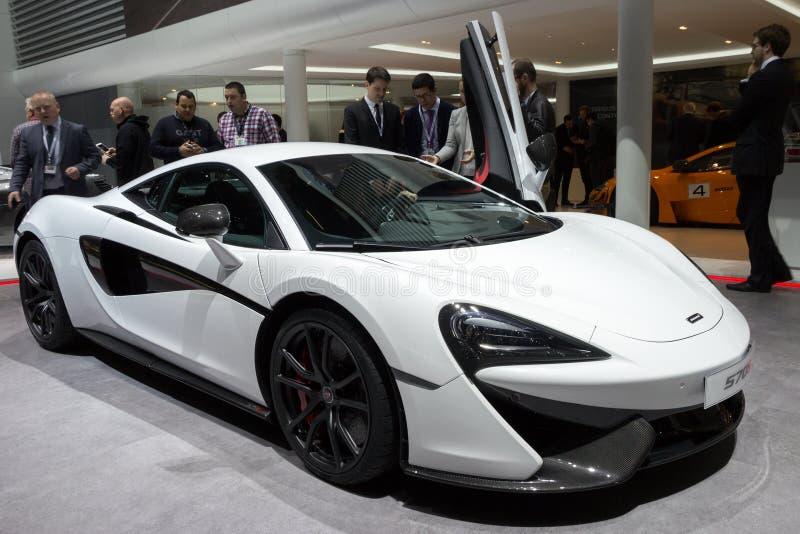 Automobile sportiva 2015 di McLaren 570S fotografia stock