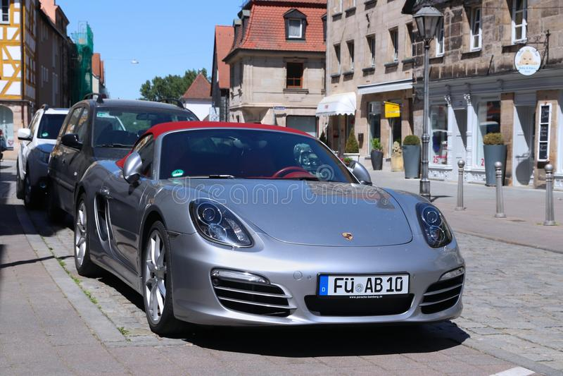 Automobile sportiva di Porsche fotografia stock libera da diritti