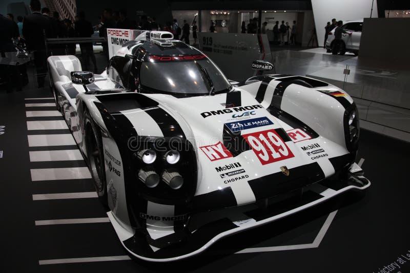 Automobile sportiva di Porsche 919 immagine stock libera da diritti