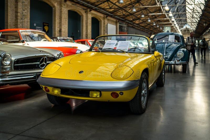 Automobile sportiva Lotus Elan S4, 1968 immagini stock