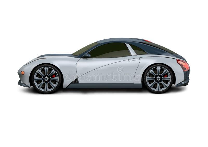 Automobile sportiva N1 illustrazione di stock