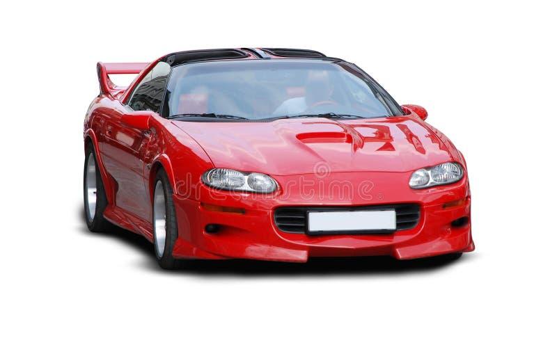 Automobile sportiva rossa fotografia stock libera da diritti