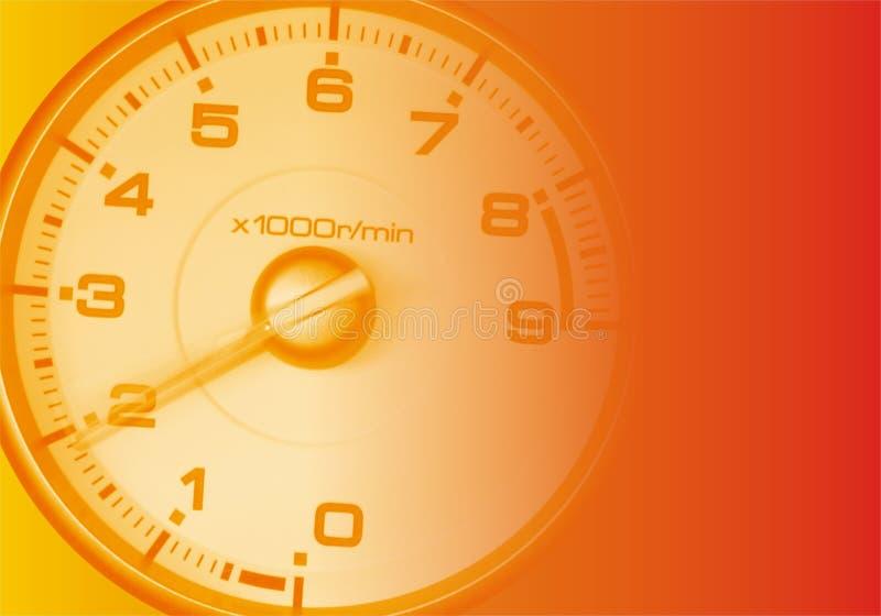 Automobile sportiva RPM illustrazione vettoriale