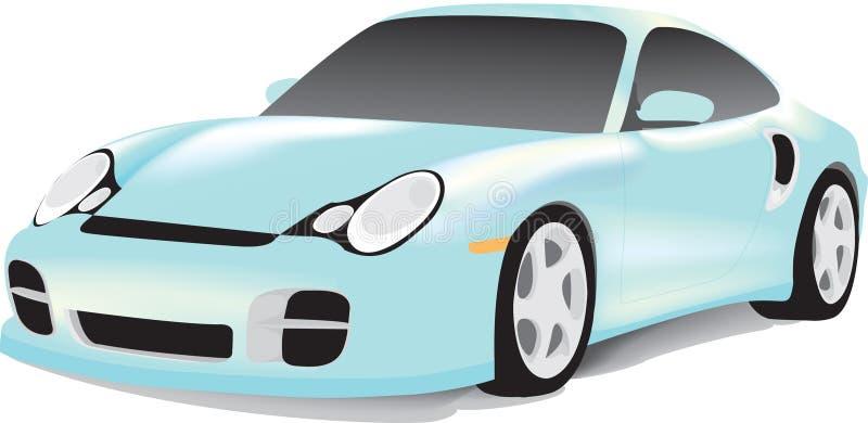 Automobile sportiva tedesca immagine stock