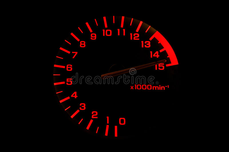 Download Automobile Tachometer Even Faster Stock Image - Image: 32002877