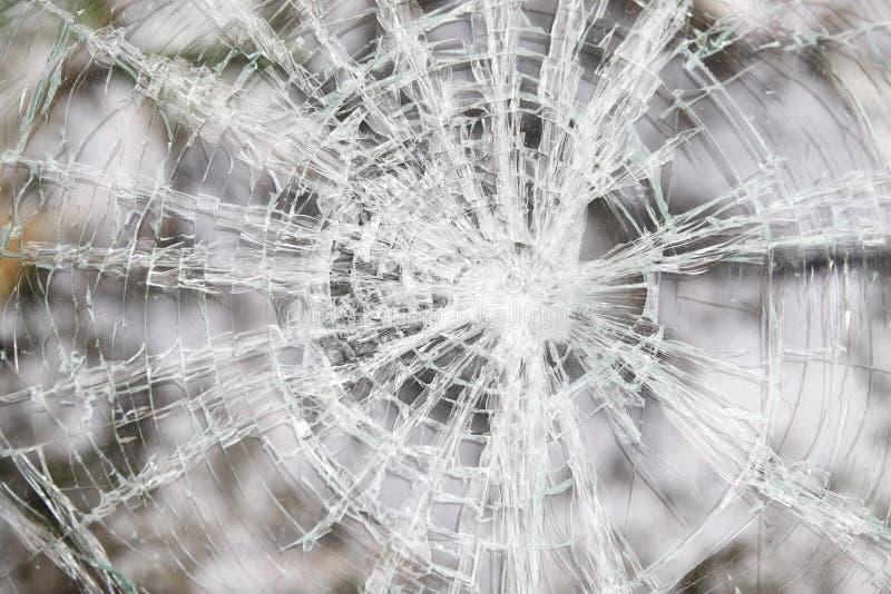 Automobile tagliata di vetro fotografia stock