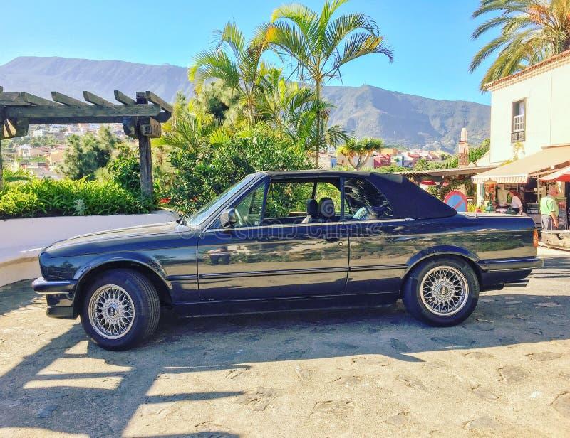 Automobile tedesca classica in Sunny Location fotografia stock