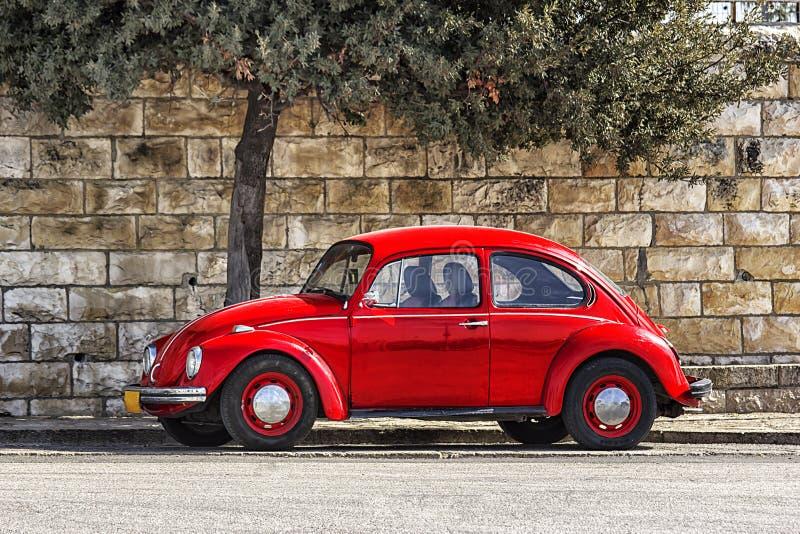 Automobile tedesca Volkswagen Beetle fotografia stock