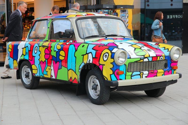 Automobile Trabant immagini stock libere da diritti