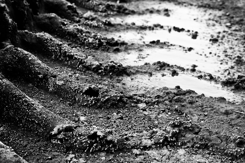 Automobile trace royalty free stock image