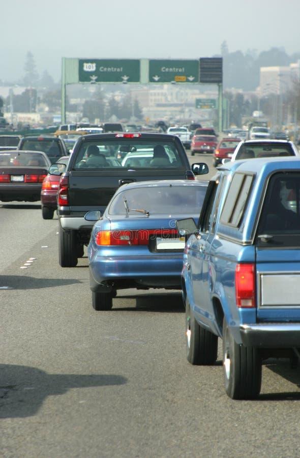 Automobile Traffic #1 royalty free stock photo