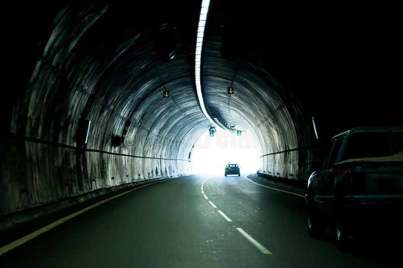 Download The automobile tunnel stock photo. Image of transportation - 28073390
