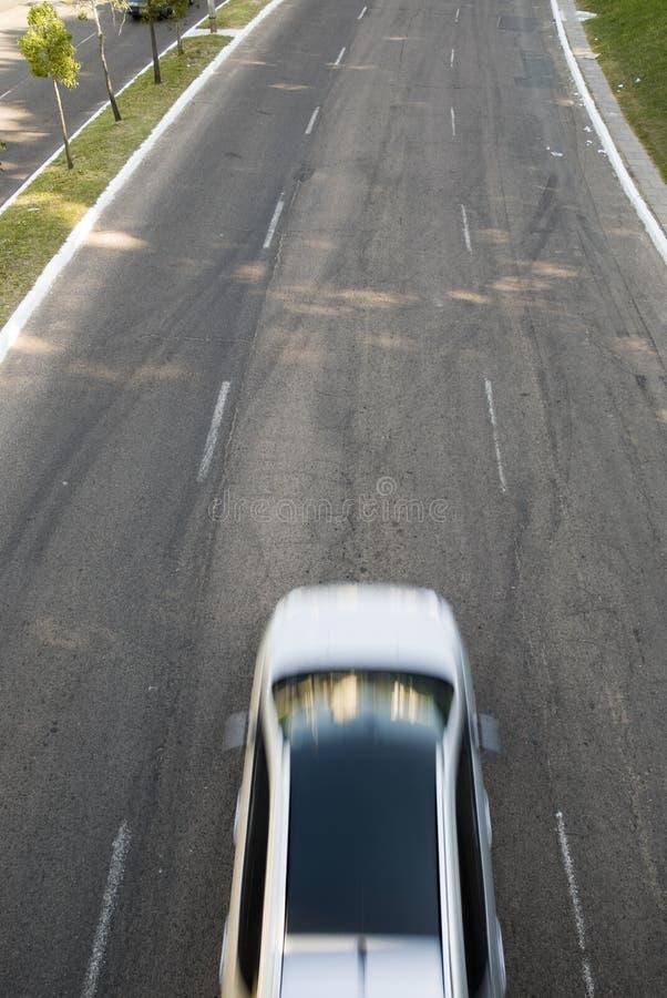 Automobile vaga movimento fotografia stock libera da diritti