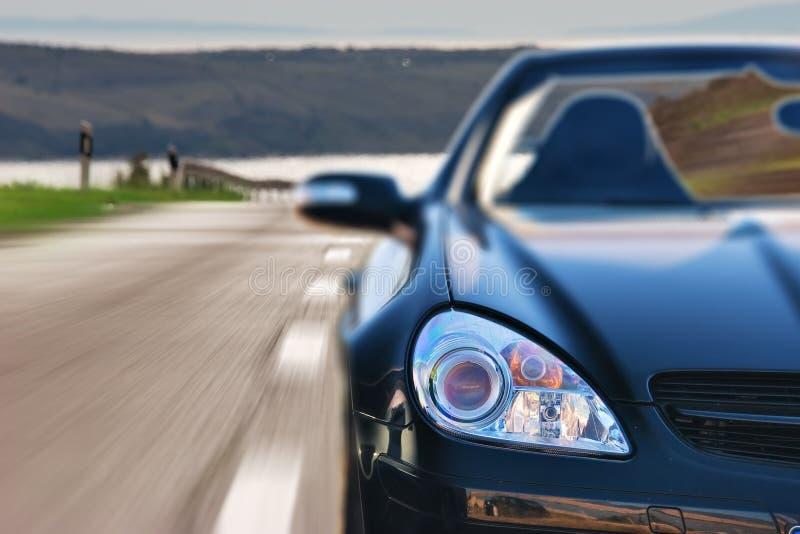 Automobile veloce di Mercedes di sport fotografia stock libera da diritti