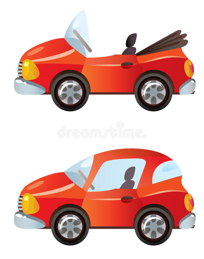 Automobili illustrazione di stock