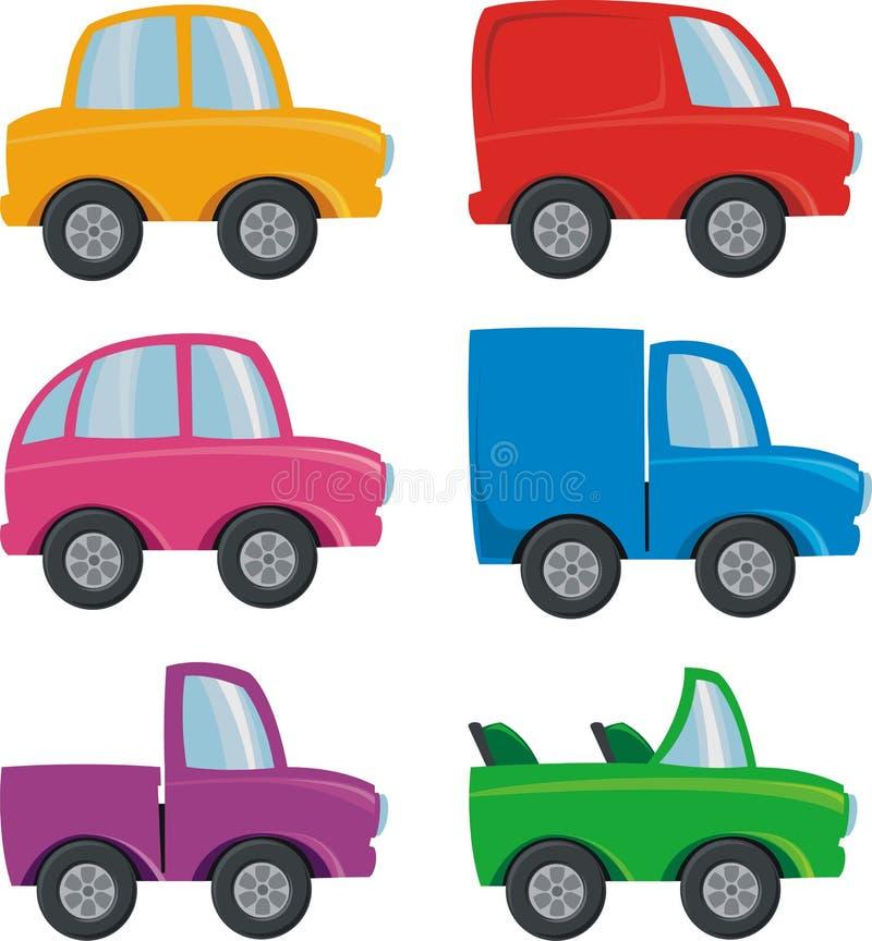 Automobili illustrazione vettoriale