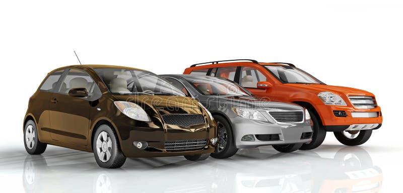 Automobili illustrazione di stock