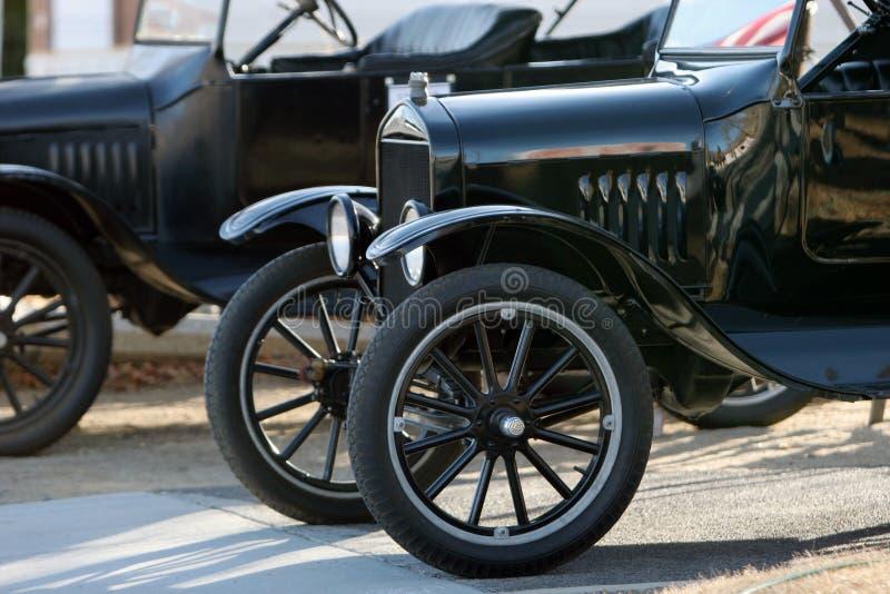 Automobili antiche classiche fotografia stock