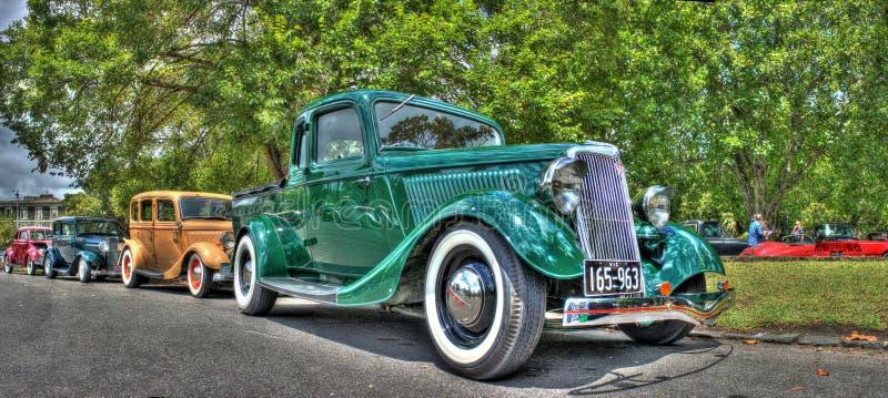 Automobili d'annata degli anni 20 fotografia stock