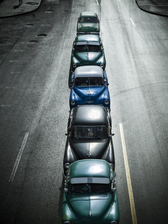 Automobili d'annata, Havana Fantasy fotografie stock