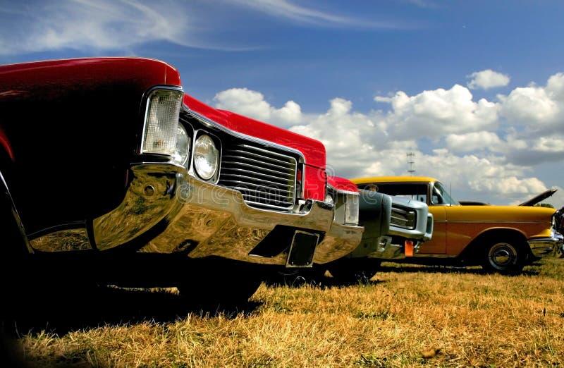 Automobili del muscolo fotografie stock libere da diritti