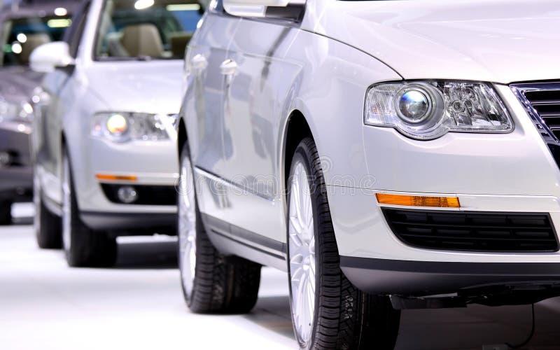 Automobili del parco fotografie stock libere da diritti