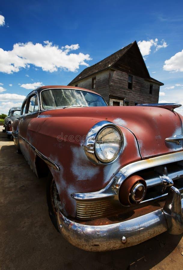 Automobili dell'annata fotografia stock