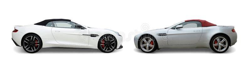 Automobili di Aston Martin fotografie stock libere da diritti