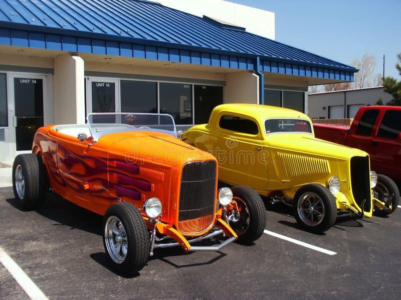 Automobili di Hotrod fotografia stock