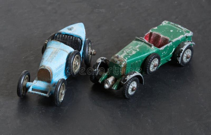 Automobili di modello d'annata fotografie stock