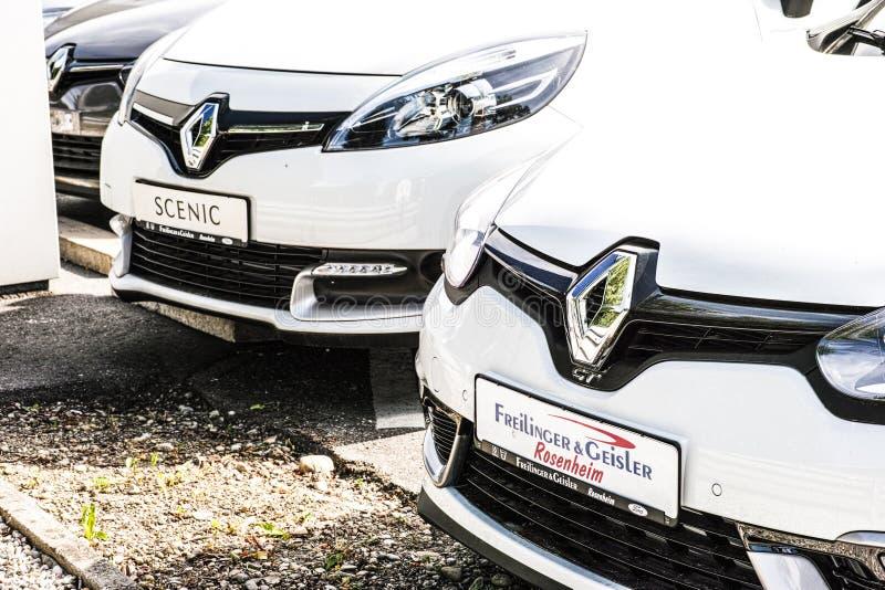 Automobili di Renault fotografia stock