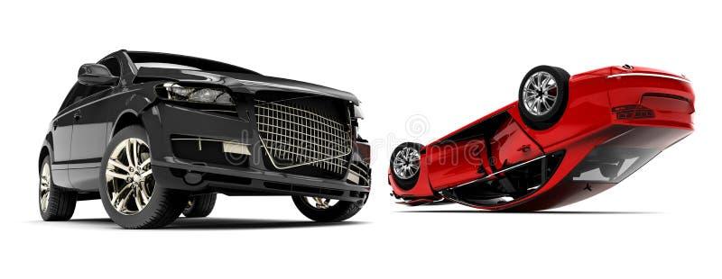 Automobili rovinate illustrazione di stock